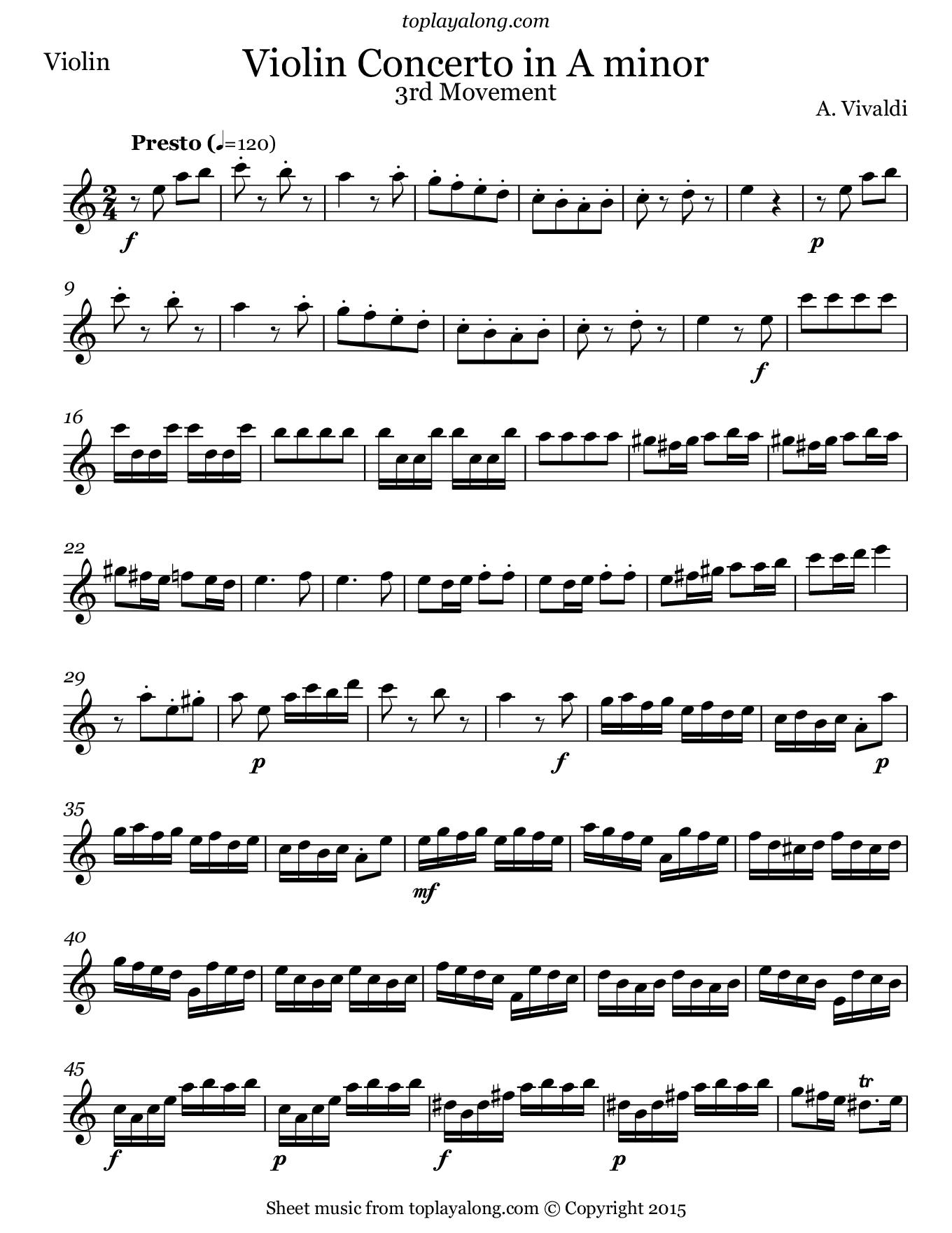 Violin Concerto in E major (Bach) - Wikipedia